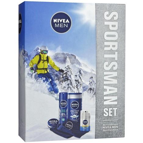 Nivea GP 'Sportsman Set' Deaospray 150ml Fresh +