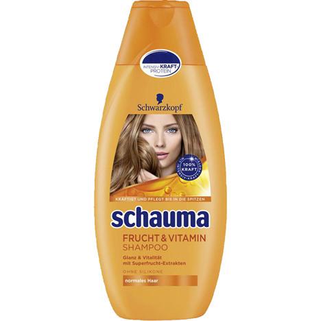 Schauma Shampoo 400ml Frucht + Vitamin