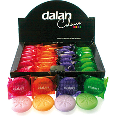Seife DALAN 40g Colours 4 Düfte sort. 36er Disp.