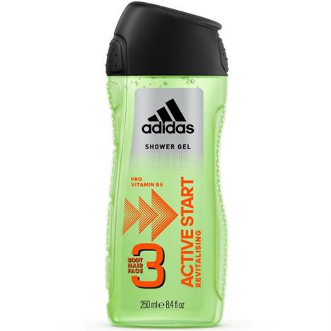Adidas Dusch 250ml 3in1 Active Start
