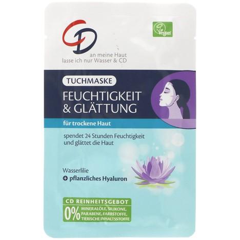 CD Tuchmaske Wasserlilie Feuchtigkeit & Glättung