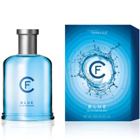Parfüm CF BLUE 100ml im wertigen Glasflakon