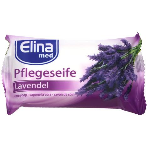 Seife Elina Lavendel 80g Stück in Folie