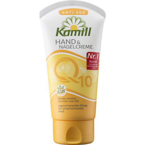 Kamill Hand & Nagel Creme 75ml Tube Anti Age Q10