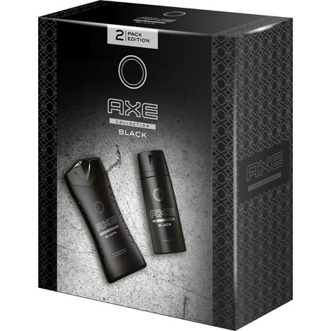 Axe GP Deospray 150ml + Dusch 250ml Black