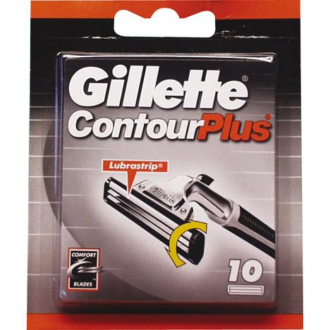 Gillette Contour Plus 10er Klingen