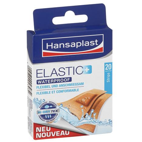 Hansastrip 20er Elastic Wasserfest Braun