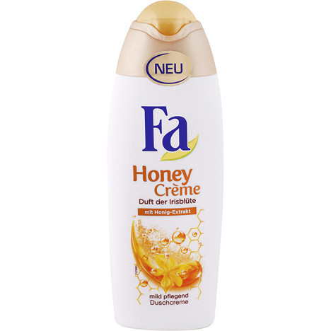 Fa Dusch 250ml Honey Creme Duft der Irisblüte