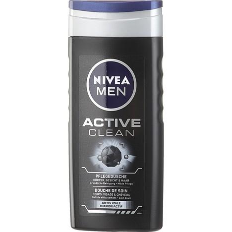 Nivea Dusch 250ml Men Active Clean SALE
