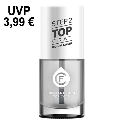 CF Gel Effekt Nagellack 11ml , Top Coat