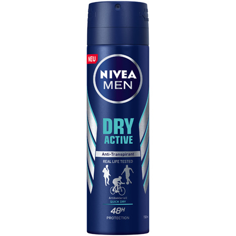 Nivea Deospray 150ml For Men Dry Active