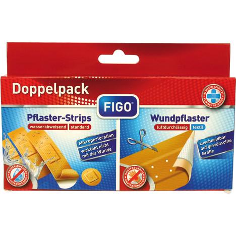 Wundverband Doppelpack 50x6cm + Strips 20er
