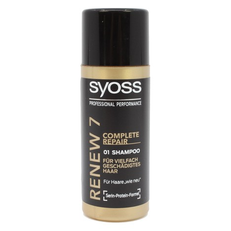 Shampoo Syoss 50ml Total Renew 7