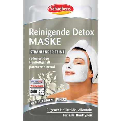 Schaebens Gesichtsmaske Detox 2x5ml