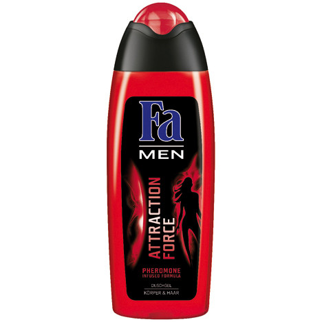 Fa Dusch 250ml Men Attraction Force