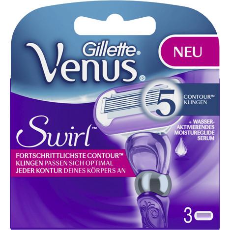 Gillette Women Venus Swirl 3er Klingen