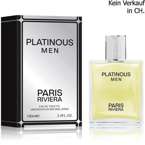 Parfüm Paris Riviera Platinous 100ml EDT for men