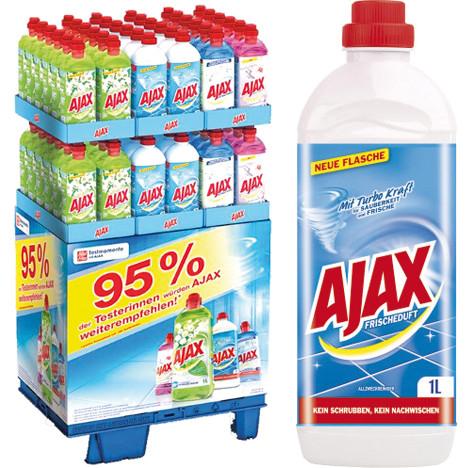 Ajax Allzweckreiniger 1 Liter 144er Display