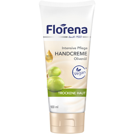 Florena Handcreme 100ml Olivenöl Tube