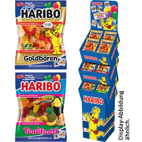 Food Haribo 175/200g 106er Display 100 Jahre