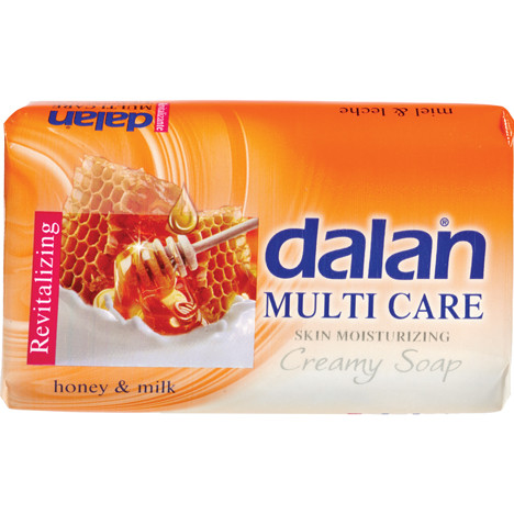 Seife DALAN 75g Multi Care Honig & Milch
