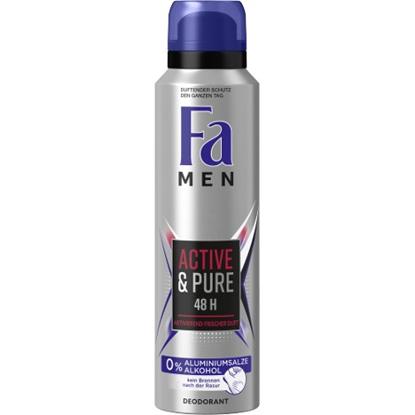 Fa Deospray 150ml Men Active & Pure