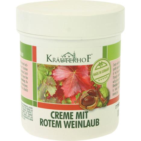 Creme Kräuterhof 100ml rotes Weinlaub in Dose