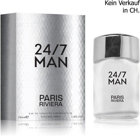 Parfüm Paris Riviera 24/7 100ml EDT for men