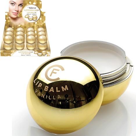 Lippenpfl. Balm Kugel 6,5g Gold in 24er Disp.
