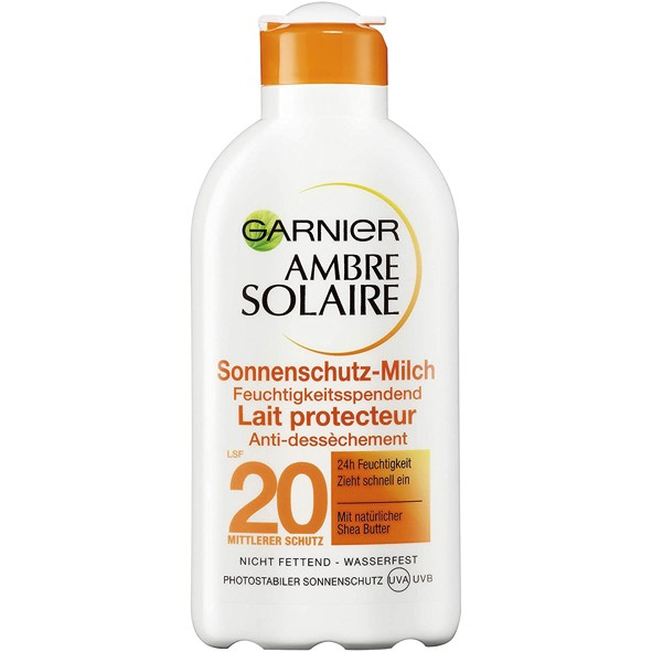 Ambre Solair Sonnenmilch 200ml LSF20