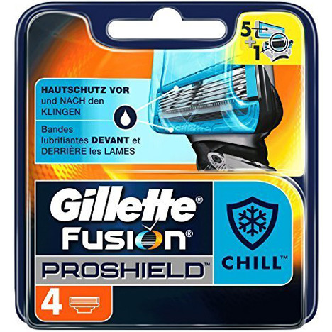 Gillette ProShield Chill 4er Klingen