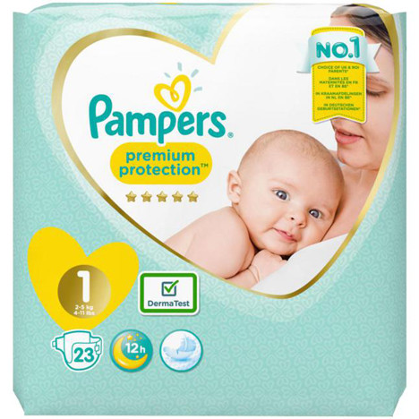 Pampers Premium Protection New Baby Gr.1 26er