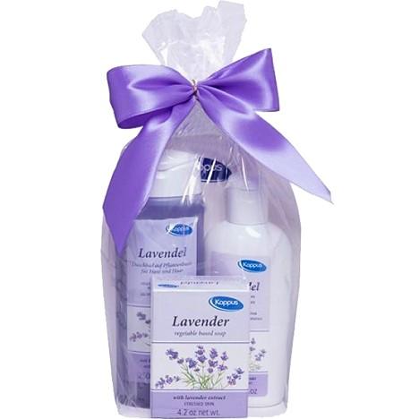 Kappus GP Lavendel Seife 125g + Dusche 250ml