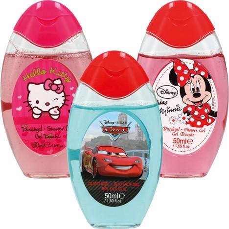 Duschgel Disney 50ml 3fach sortiert