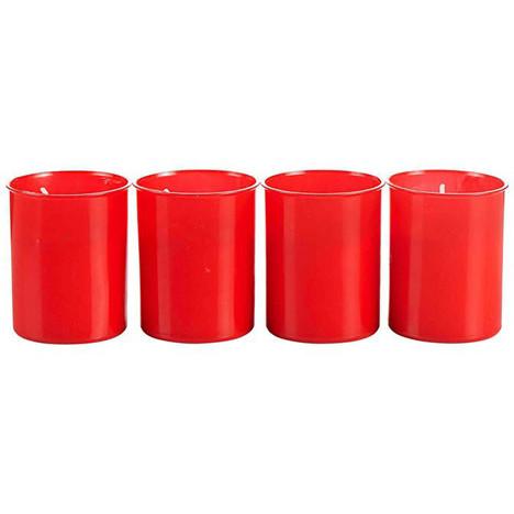 Grablicht Brenner 4er Nr.40 (P50) rot