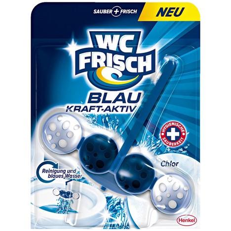 WC Frisch Kraft-Aktiv Blauspüler 50g Chlor