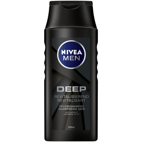 Nivea Shampoo 250ml Men Deep Revitalisierend