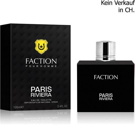 Parfüm Paris Riviera Faction 100ml EDT for men