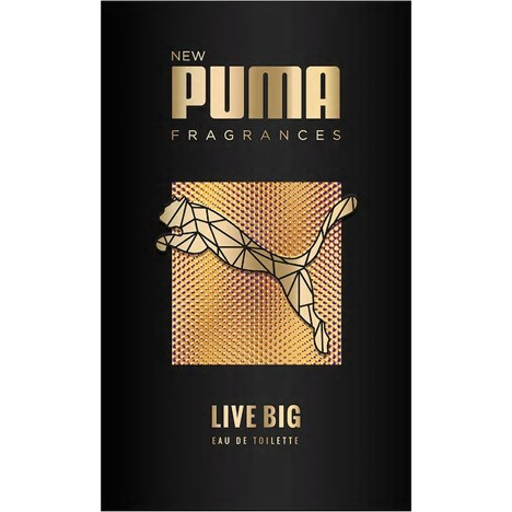 Parfum Puma EDT 50ml Live Big