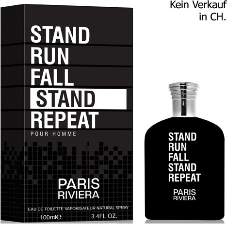 Parfüm Paris Riviera Stand Run Fall Stand Repeat