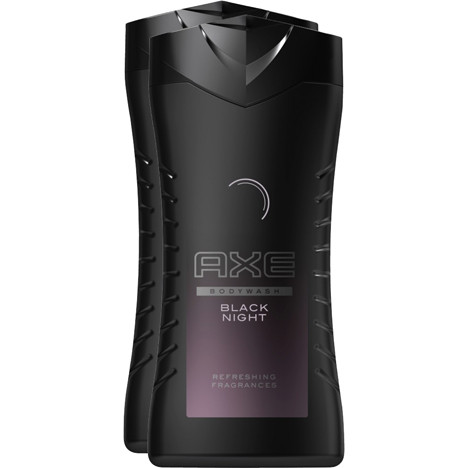 Axe Duschgel SALE 2x250ml Black Night