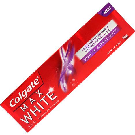 Colgate Zahncreme 75ml Max White White&Protect
