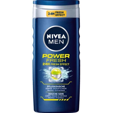 Nivea Dusch 250ml For Men Power Fresh