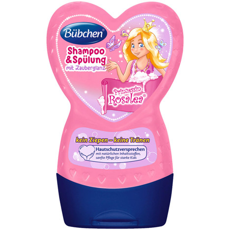 Bübchen Shampoo&Spülung 230ml Prinzessin Rosalea