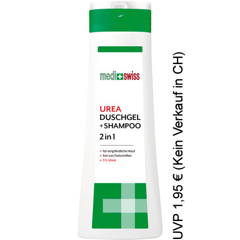 Medi+Swiss Dusche & Shampoo 2in1 300ml 5% Urea