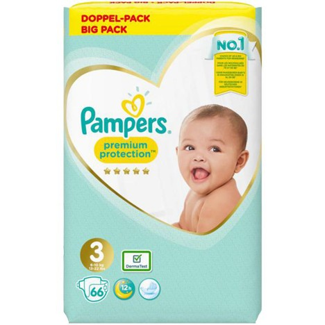 Pampers Premium Protection Gr.3 Midi 66 Stück