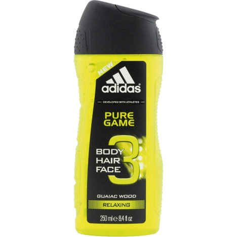 Adidas Dusch 250ml 3in1 Pure Game