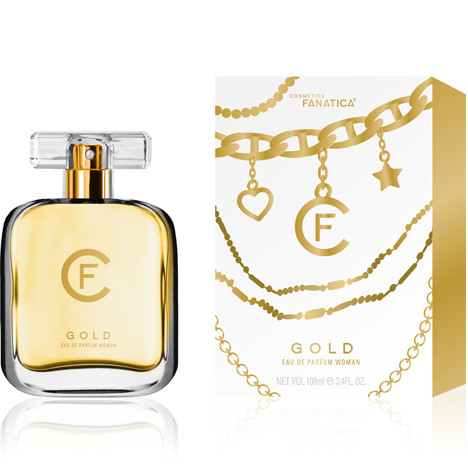 Parfüm CF GOLD 100ml im wertigen Glasflakon