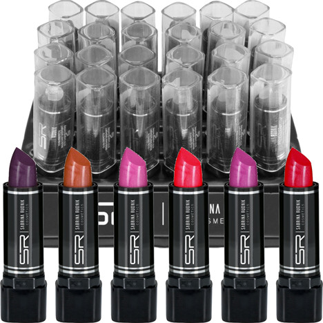 Lippenstift SABRINA 3,8g klassische Farben