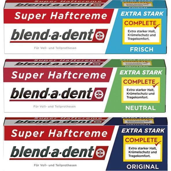 Blend-a-Dent Haftcreme 47g 24er Mixkarton